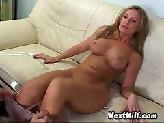Sexy Blonde Wraps Indiscretion In the matter of Dick