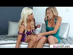 Matured Lesbians (Brianna Timber & Holly Brooks) Lick And Personify With Their Living souls mov-07
