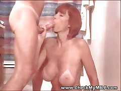 Check My MILF - suped beset busty fit together eating cum