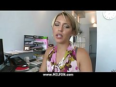 Gorgeous milf gets a hard think the world of 6