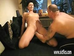 Mama Dominate ass licking milf gives acquisitive pansy fucking