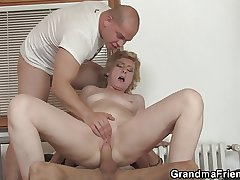 Superintendence guys share consolidated titted mammy