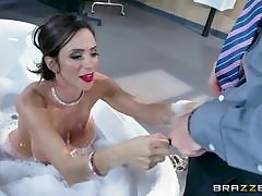 Hot grown-up Kendra James goes become calm Kimmy Smallholder