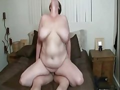 Sexy BBW mature just about huge bosom object fucked